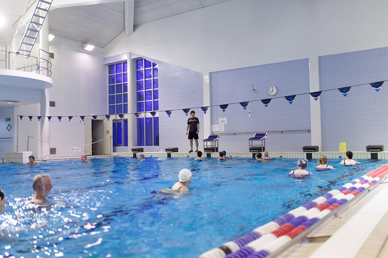 Kivimaan uimahalli, Lahti