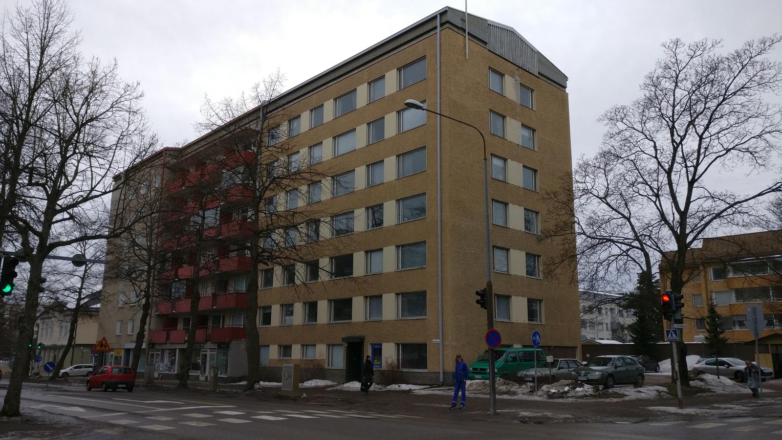 Puistokatu 13, Jyväskylä