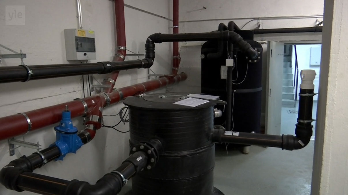 Jäteveden lämmöntalteenotto Ylen uutisissa 13.8.2019