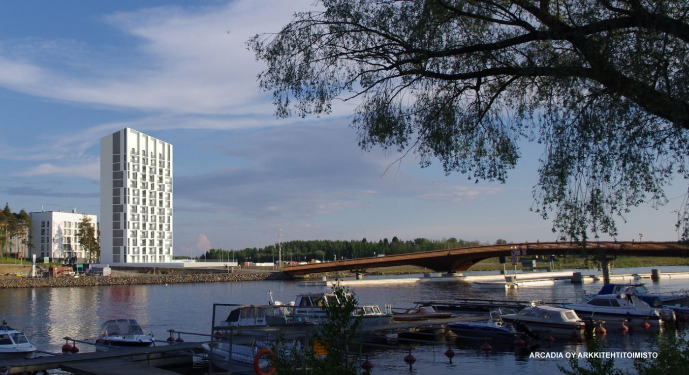 Joensuu Lighthouse – Suomen korkein puukerrostalo